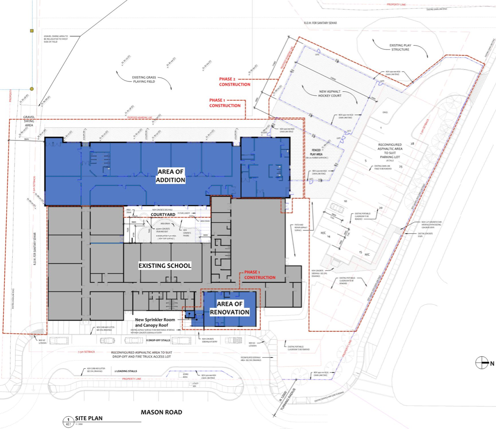 School Expansion Map